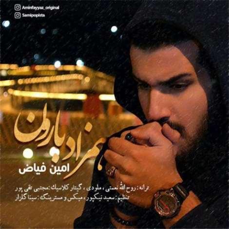 آهنگ جدید امین فیاض به نام همزاد بارون