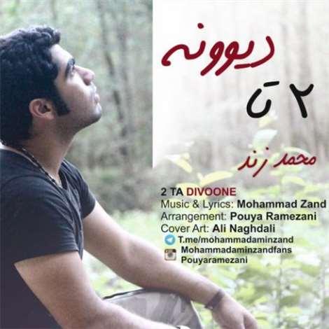 آهنگ جدید محمد زند به نام 2 تا دیوونه