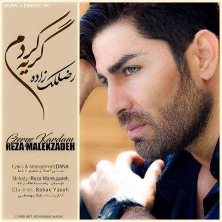 آهنگ جدید رضا ملک زاده به نام گریه کردم